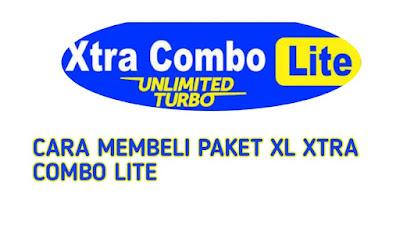 cara membeli Paket Data XL xtra combo lite