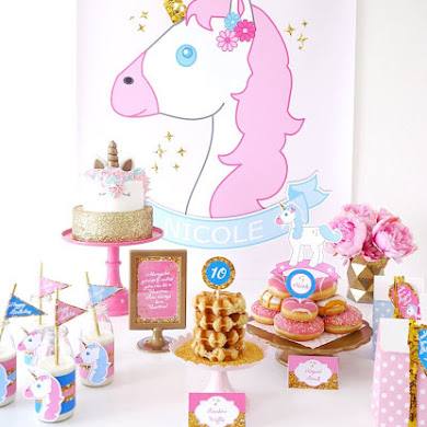 My Daughter's Unicorn Birthday Slumber Party