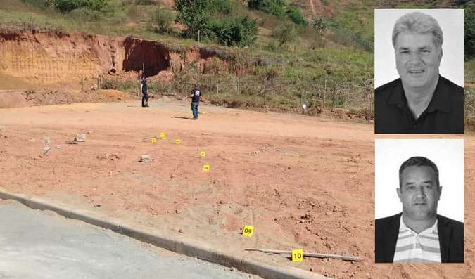Vereador mata prefeito a tiros em briga por causa de cerca em Minas Gerais