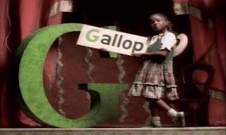 G for go, girls, guitar, goldfish, goggles, gallop. Sesame Street Do the Alphabet