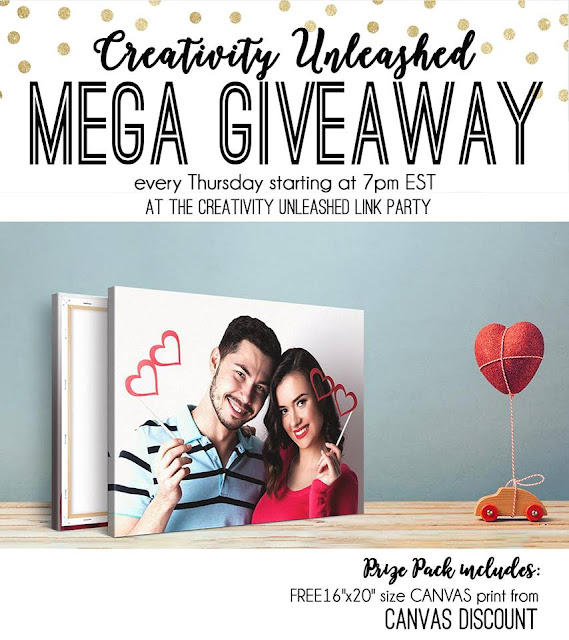 Canvas Discount Giveaway at MyLove2Create