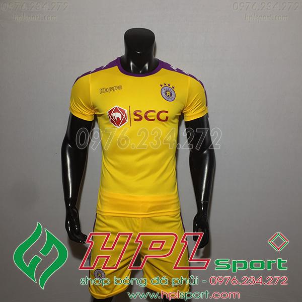 Áo đá bóng câu lạc bộ Hà Nội màu vàng