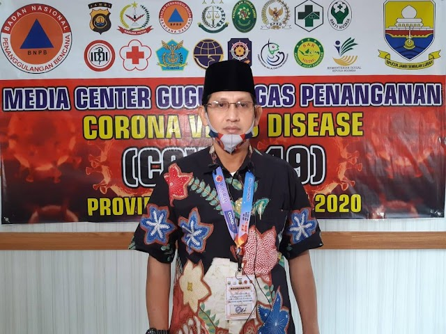 Pasien Positif Corona Jambi Bertambah 15 Orang, 1 Penjual Kopi Asal Kerinci 3 Cluster Petrochina