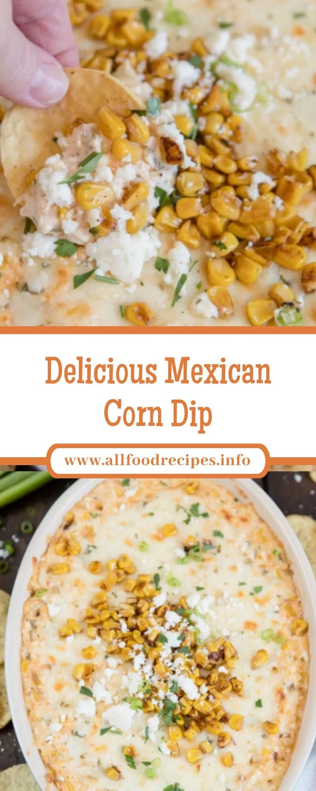 Delicious Mexican Corn Dip
