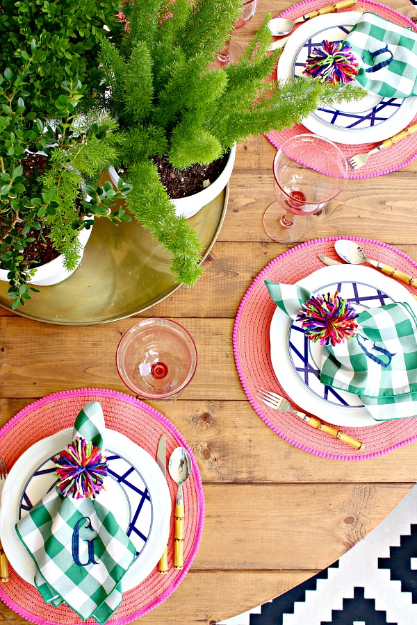 SUMMER HOME TOUR PART 3- PATIO - Dimples and Tangles