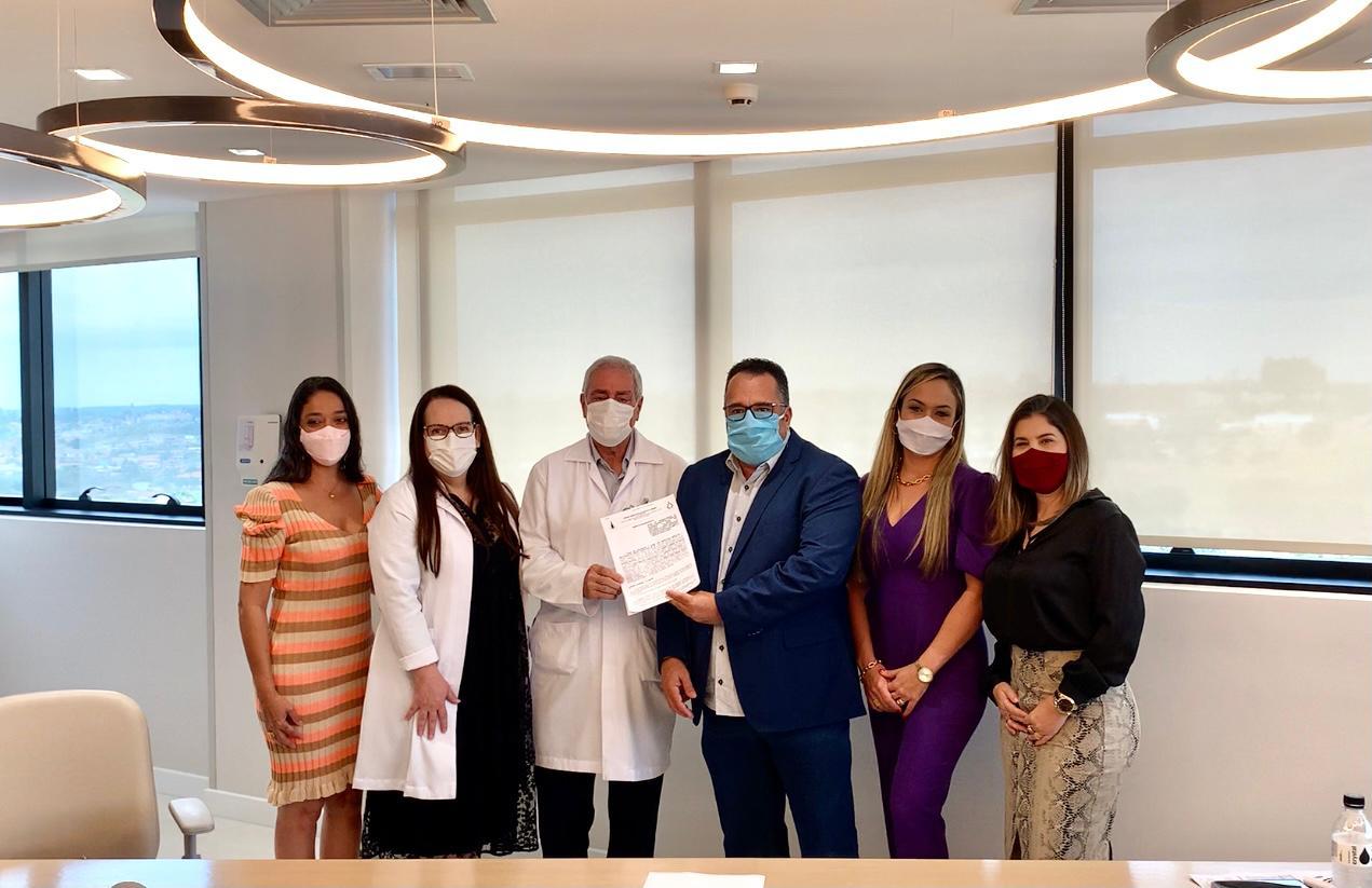 Fascal assina termo de credenciamento com o Hospital Brasília Unidade Águas Claras