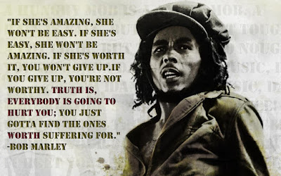 Bob Marley Quotes about love life and Money