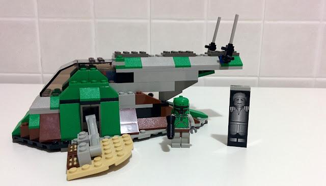 LEGO set 7144 STAR WARS Slave I - Boba Fett