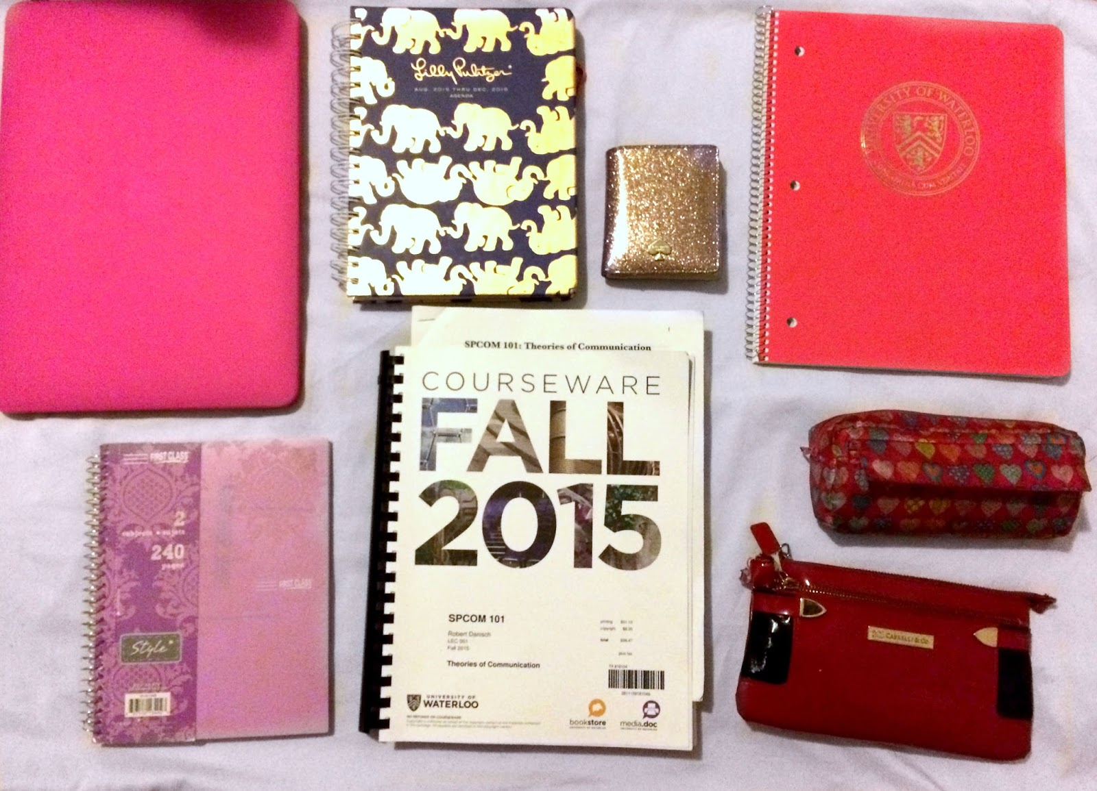 Le Northern Belle | What's in my College Bag | Blog