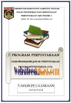 File Pendidikan Program Kerja Perpustakaan Sekolah Terbaru 2018