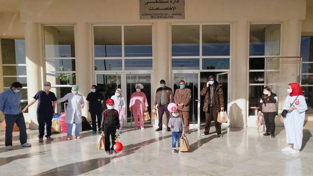 جائحة كورونا بالمغرب: لأول مرة تسجل 434 حالة شفاء خلال الـ24 ساعة الأخيرة