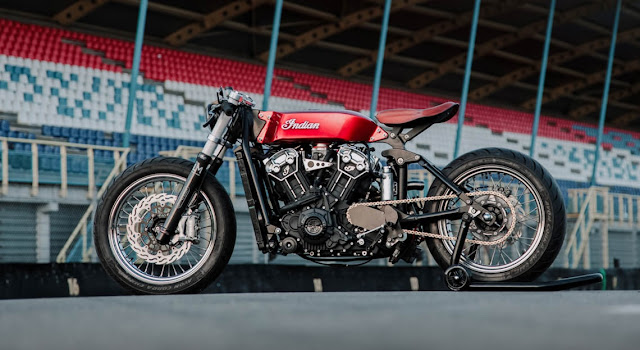 Indian Scout By Luuc Muis Creations Hell Kustom