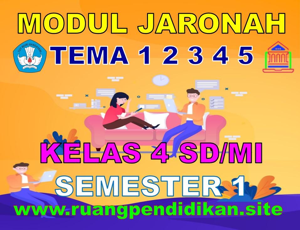 Modul BDR/PJJ/Online Kelas 4 SD/MI