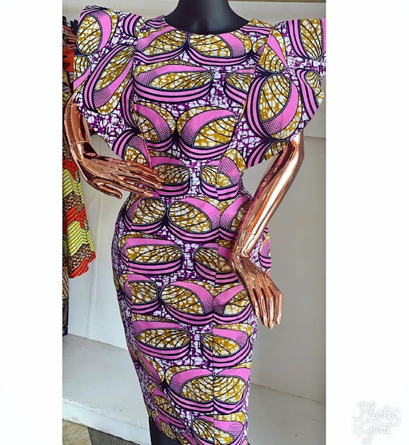 2019 African Fashion Finests: Ankara Short Gown Styles