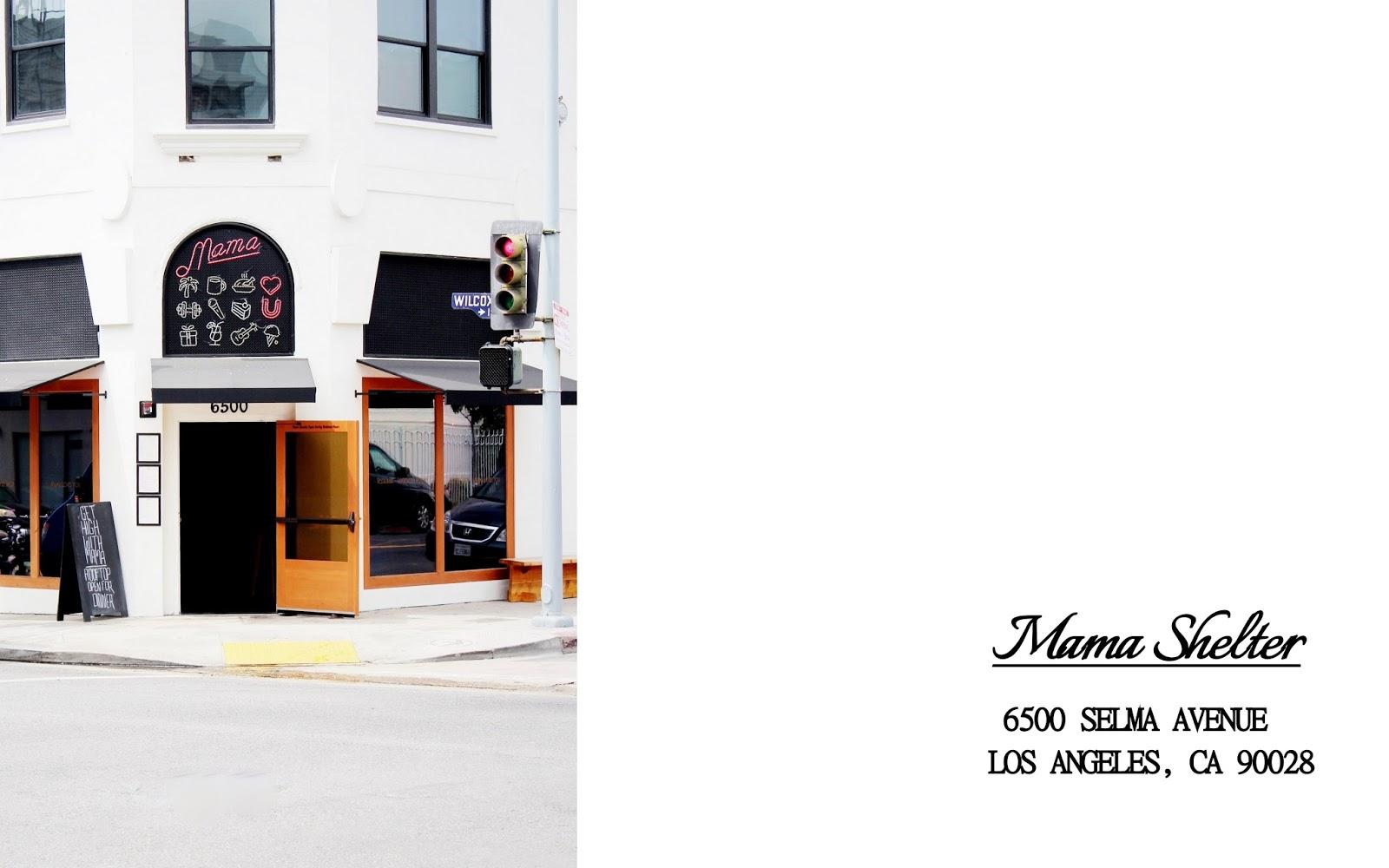 Mama Shelter (Los Angeles, CA) | Eat