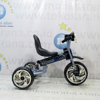 Wimcycle A6A Batman Suspension Baby Tricycle