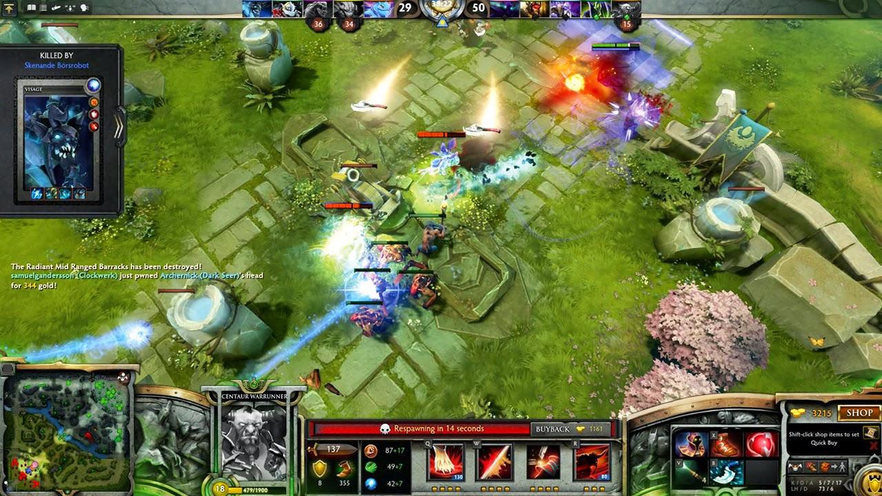 Free Download PC Games Dota 2 Offline Full Version