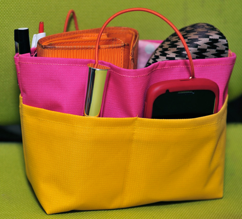 DIY Purse Organizer Tutorial & Pattern
