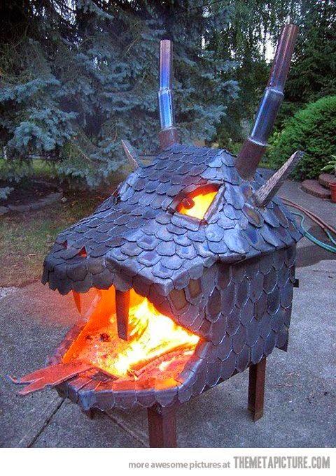 campfires for backyard dragon mouth