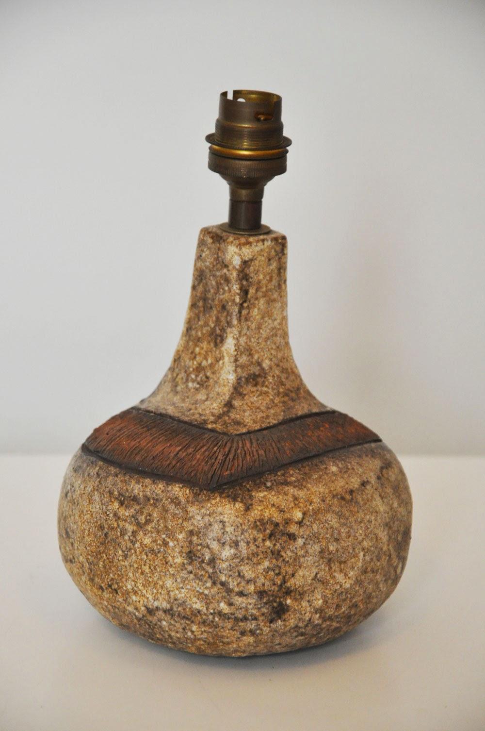 Petite lampe en gr s c pradier l 39 amateur eclair - Gres ceramique ...