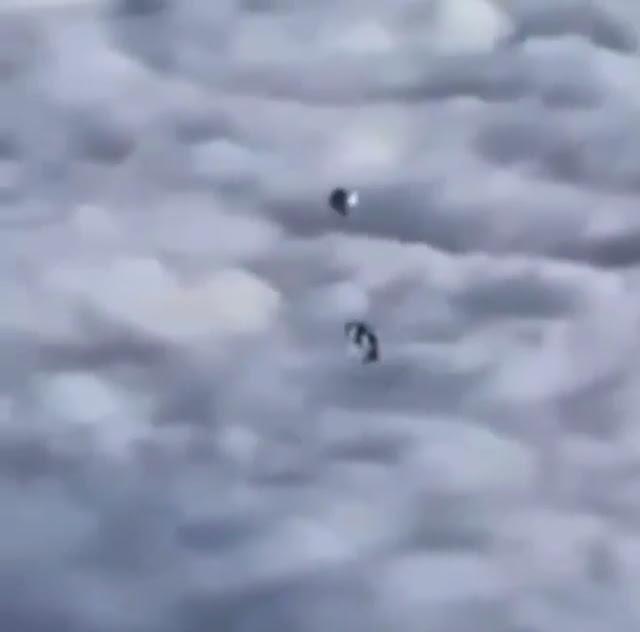 2 Silver UFOs.