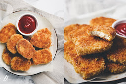 VEGAN CHICKEN NUGGETS (WITH GLUTEN-FREE OPTION!) #vegan #recipevegetarian