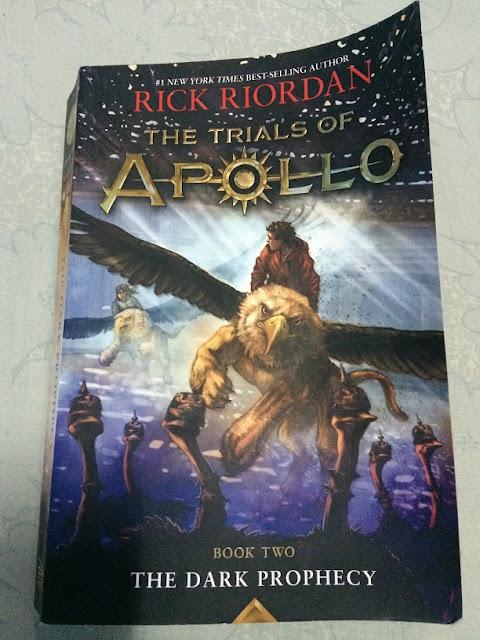 Trials of Apollo Book 2 The Dark Prophecy by Rick Riordan