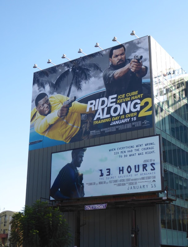 Ride Along 2 billboard