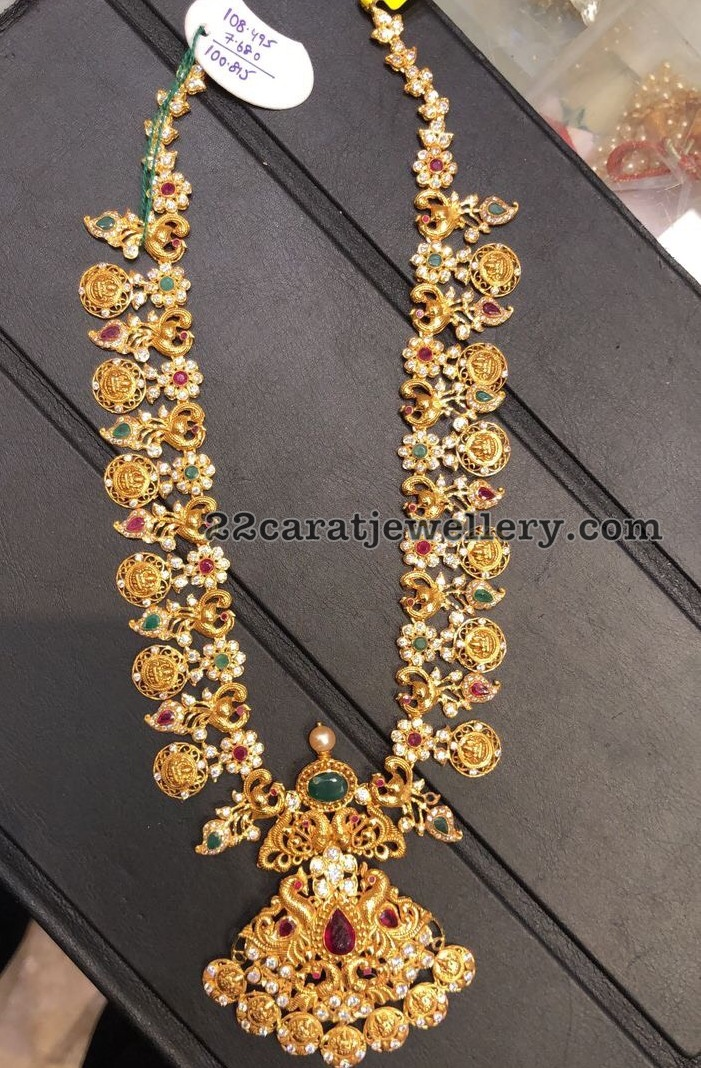 Traditional yet Trendy South Indian Long Chains