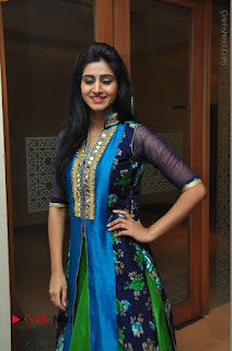 Actress Model Shamili Sounderajan Pos in Desginer Long Dress at Khwaaish Designer Exhibition Curtain Raiser  0009.JPG