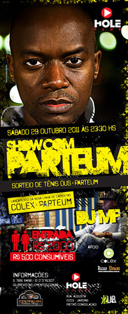 SHOW - Parteum no Hole Club