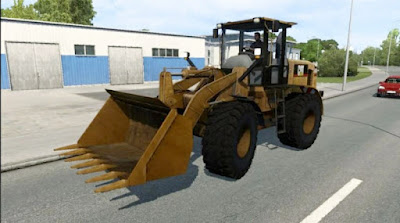 Tractor CAT 938G - ETS2 1.40 - 1.41