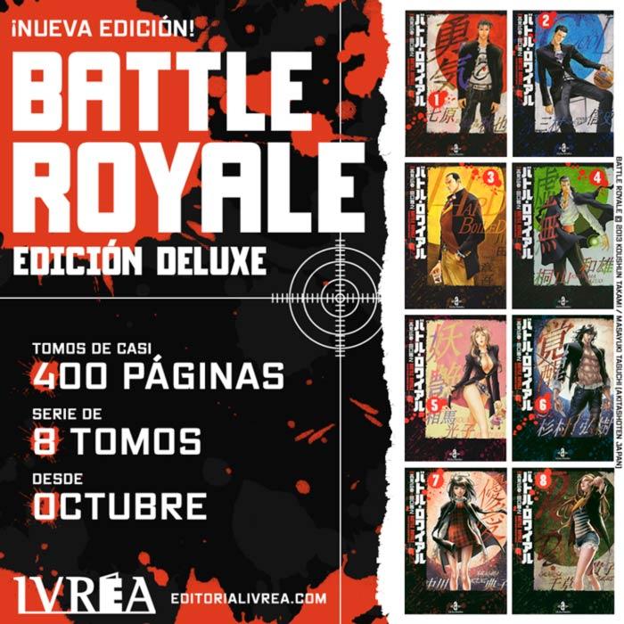 Battle Royale manga (Masayuki Taguchi) - nueva edición de Ivrea
