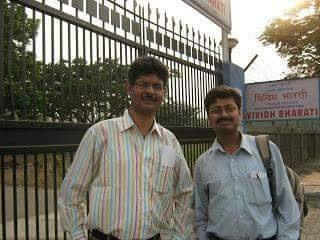 विविध भारती के मुंबई केंद्र पर सुविख्यात उद्घोषक युनूस खान जी के साथ