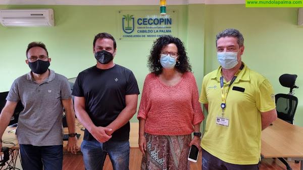 El Cabildo de La Palma incorpora al nuevo coordinador del CECOPIN