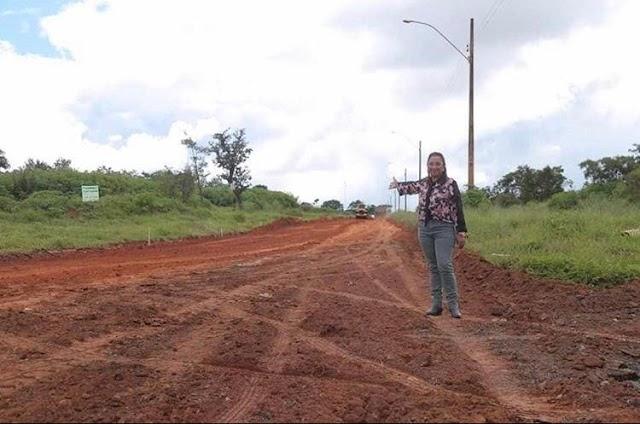 Obras de pavimentação são prioridade em Novo Gama