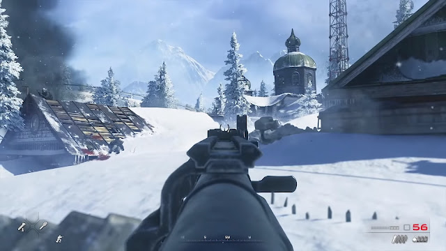 Screenshot Gameplay CoD: MW2