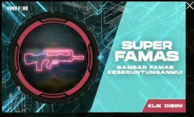 Ketemu lagi bersama kami dipembahasan game Free Fire Famas FF Free Fire: Cara Mendapatkan Famas di Event Super Famas