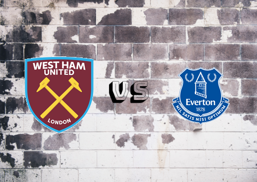 West Ham United vs Everton  Resumen