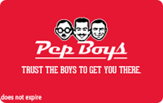 Pep Boys eGift Card