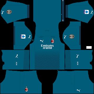 AC Milan - Dream League Soccer 2021 Forma Kits & Logo