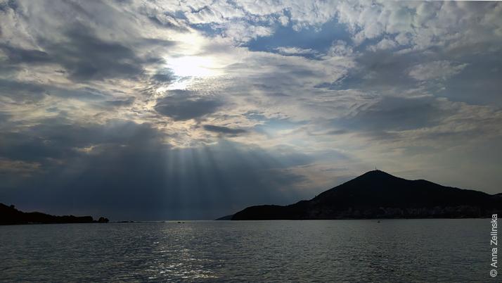 Закат с Завалы, Черногория