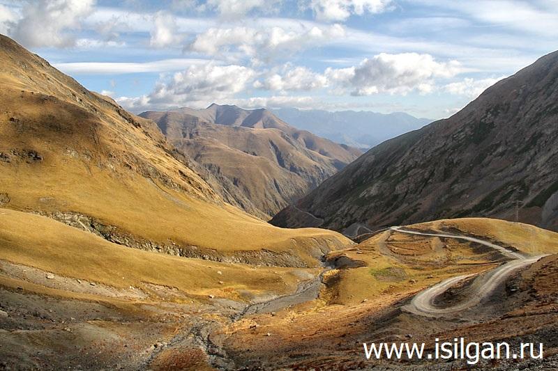 Дорога в Тушетию. Перевал Абано (2970). Грузия