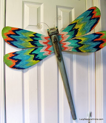 ikat dragonfly