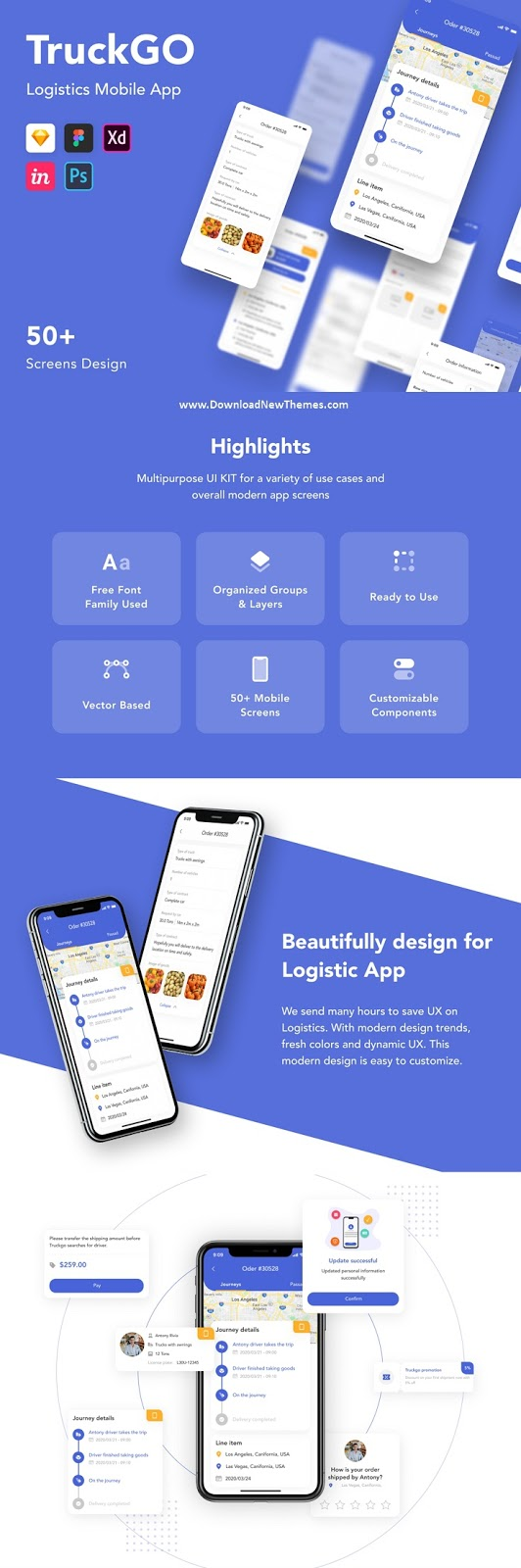 Logistics Mobile App