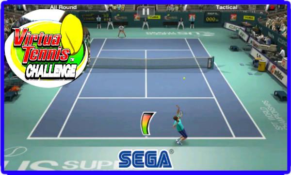 العاب التنس android ios Virtua Tennis Challenge