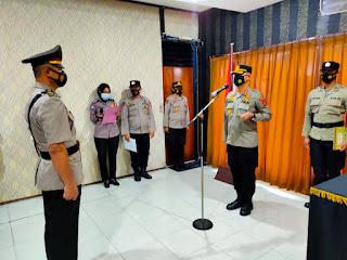 Kapolres Fakfak Pimpin  Pengukuhan Jabatan Kabag Ren