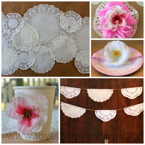 Diy Paper Doily Party Decorations Budget Ideas Love That Www