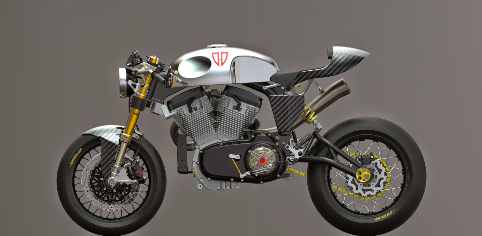 buell cafe racer | concept - grease n gas