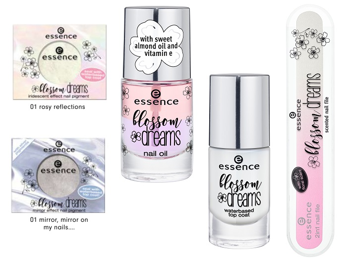 essence blossom dreams effect nail pigments